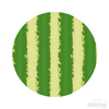 Watermelon Pattern Polka Dot Circles Reusable Wall Decals