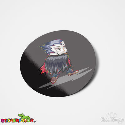 StickerFavor® Dracula 001 Halloween Vinyl Decal Sticker Favors (Qty 103 - assorted sizes) | StickerFavor® | DecalVenue.com
