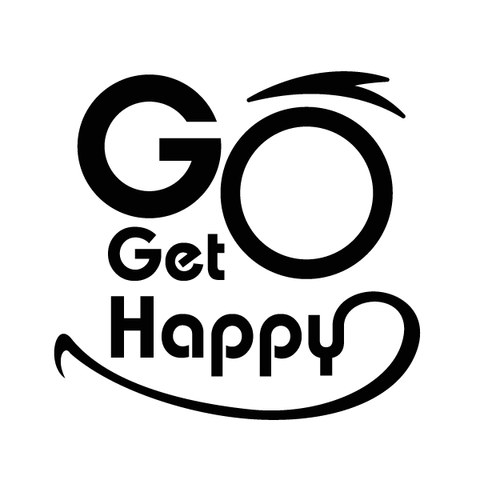 Go Get Happy Face Decal [001]-Go Get Happy-Decal Venue
