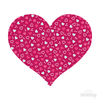 Love Pattern Pink Heart Decals 003-Shapes & Patterns-Decal Venue