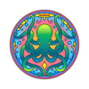 Octopus Mandala Decal-Shapes & Patterns-Decal Venue