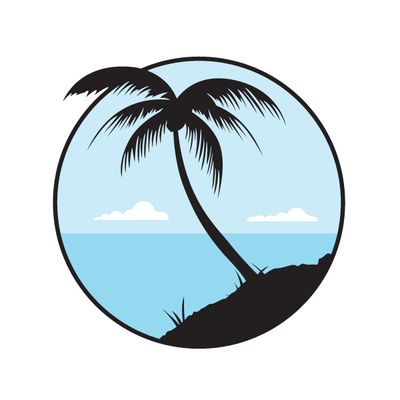 Palm Tree Decal [002] | Nature & Nautical | DecalVenue.com