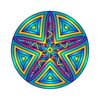 Starfish Mandala Decal-Shapes & Patterns-Decal Venue