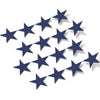 Navy Blue Stars Vinyl Wall Decals