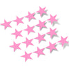 Pink Stars Vinyl Wall Decals