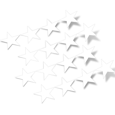 White Stars Vinyl Wall Decals