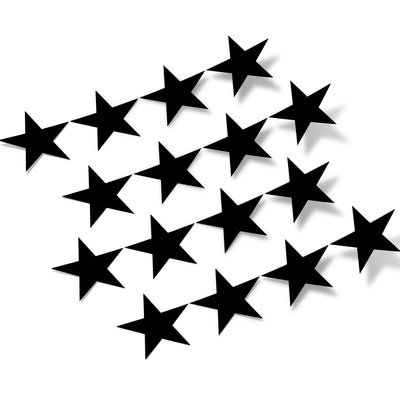 Black Stars Vinyl Wall Decals