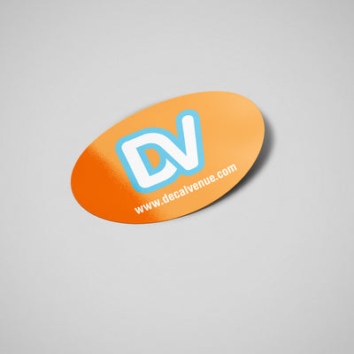 StickerFavor® Create Your Own Oval Vinyl Decal Sticker Pack | StickerFavor® | DecalVenue.com