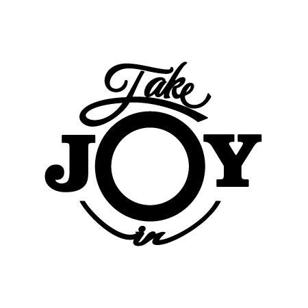Take Joy In Signature Logo Decal-Take Joy In-Decal Venue