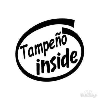 Tampeño Inside Decal | Family & People | DecalVenue.com