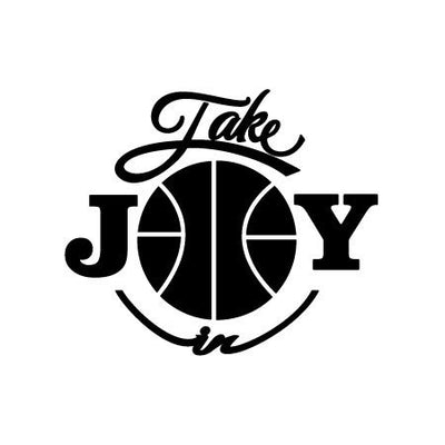 Take Joy In Basketball Decal-Sports & Hobbies-Decal Venue