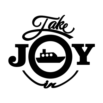Take Joy In Boating Decal | Take Joy In | DecalVenue.com