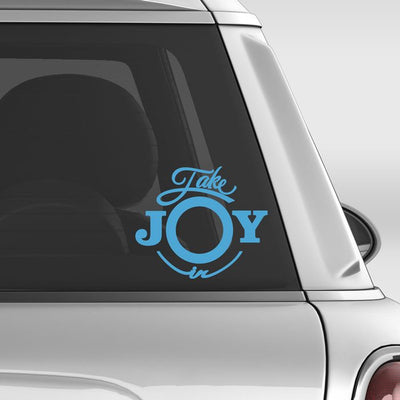 Take Joy In Dog Irish Terrier Decal | Animals | DecalVenue.com