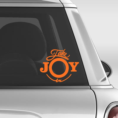 Take Joy In Lions Decal | Take Joy In | DecalVenue.com