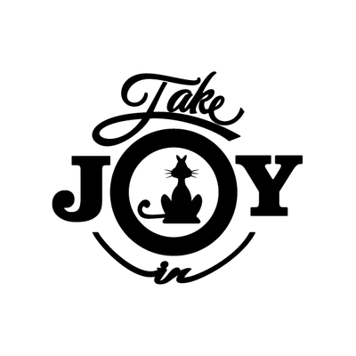Take Joy In Cats Decal 001
