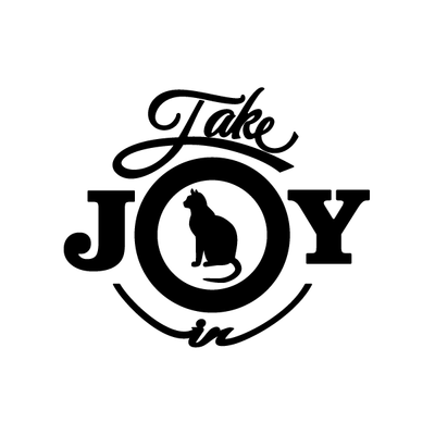 Take Joy In Cats Decal 002