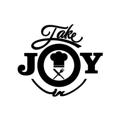 Take Joy In Chef Decal-Occupation & Industries-Decal Venue
