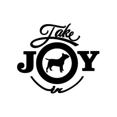 Take Joy In Dog Bull Terrier Decal | Animals | DecalVenue.com