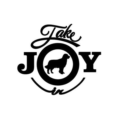 Take Joy In Dog Golden Retriever Decal-Animals-Decal Venue