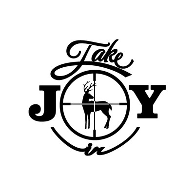 Take Joy In Hunting Deer Decal | Take Joy In | DecalVenue.com