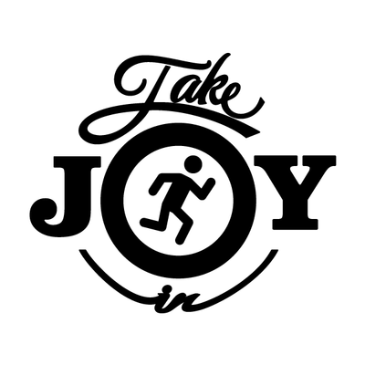 Take Joy In Jogging Decal | Take Joy In | DecalVenue.com