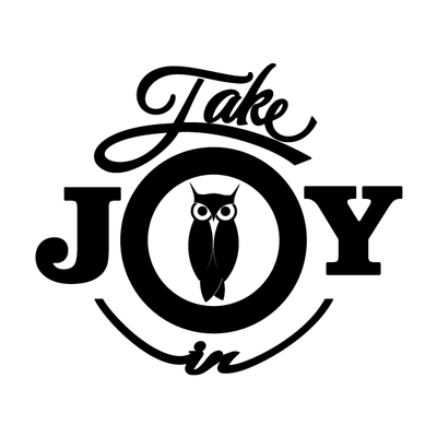 Take Joy In Owls Decal | Take Joy In | DecalVenue.com
