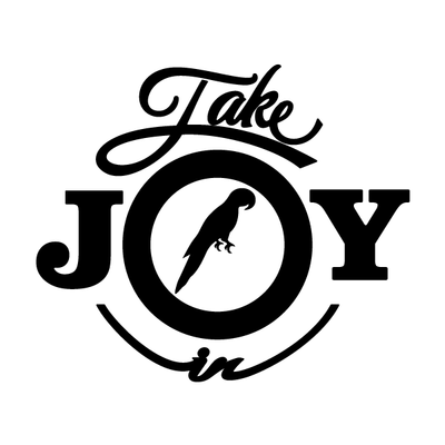 Take Joy In Parrots Decal-Take Joy In-Decal Venue