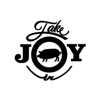 Take Joy In Pig Decal | Animals | DecalVenue.com