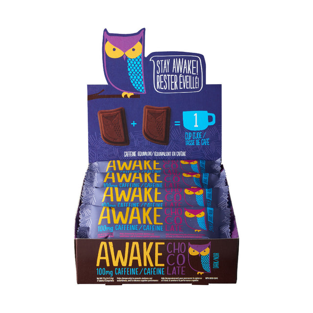 Dark Chocolate Bars - AWAKE Energy Canada
