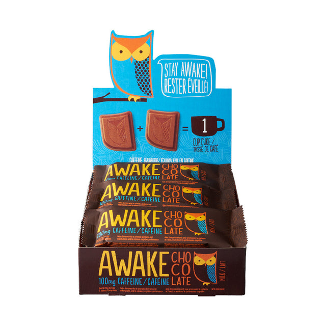 Milk Chocolate Bars - AWAKE Energy Canada