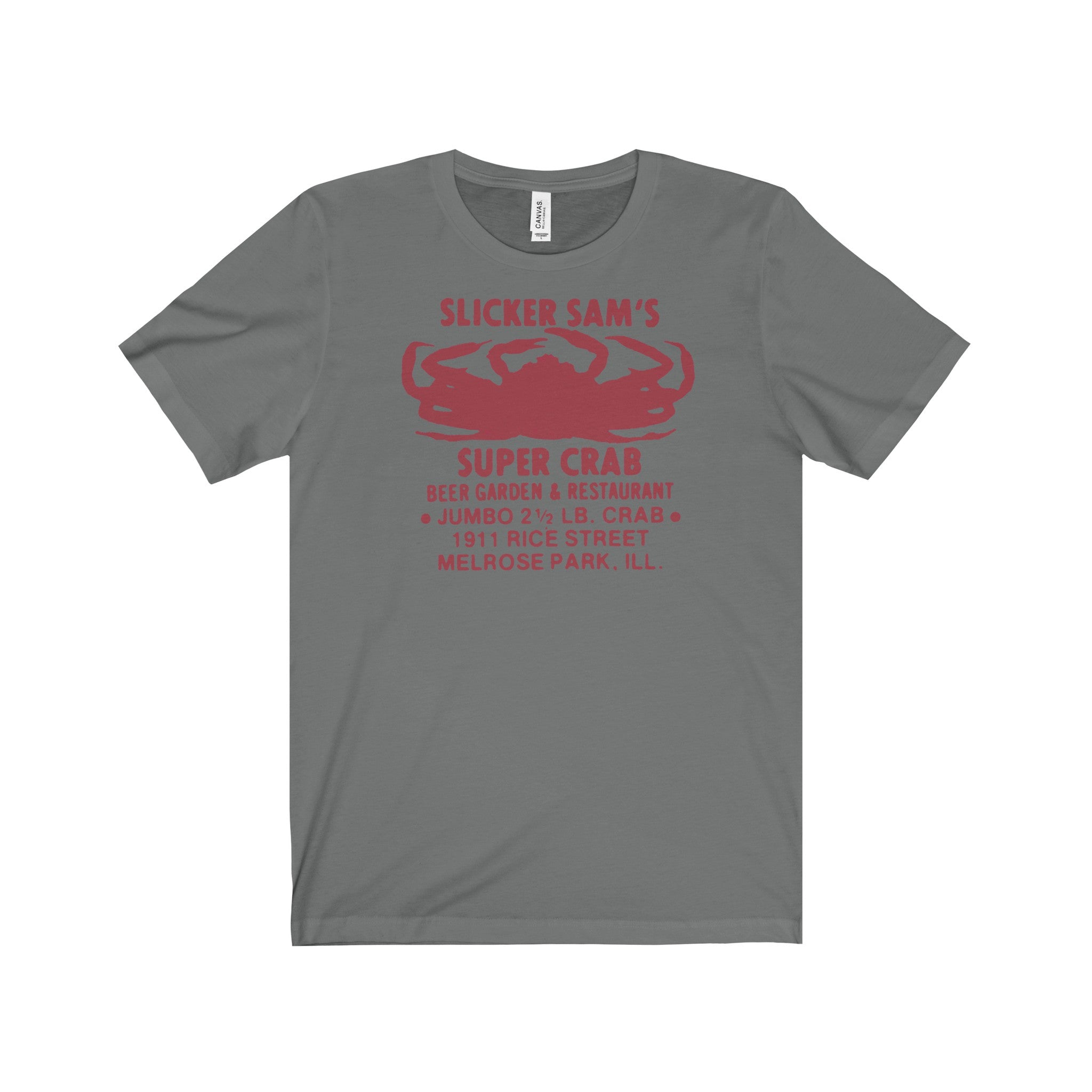 Sliker Sam's Super Crab Vintage T-Shirt