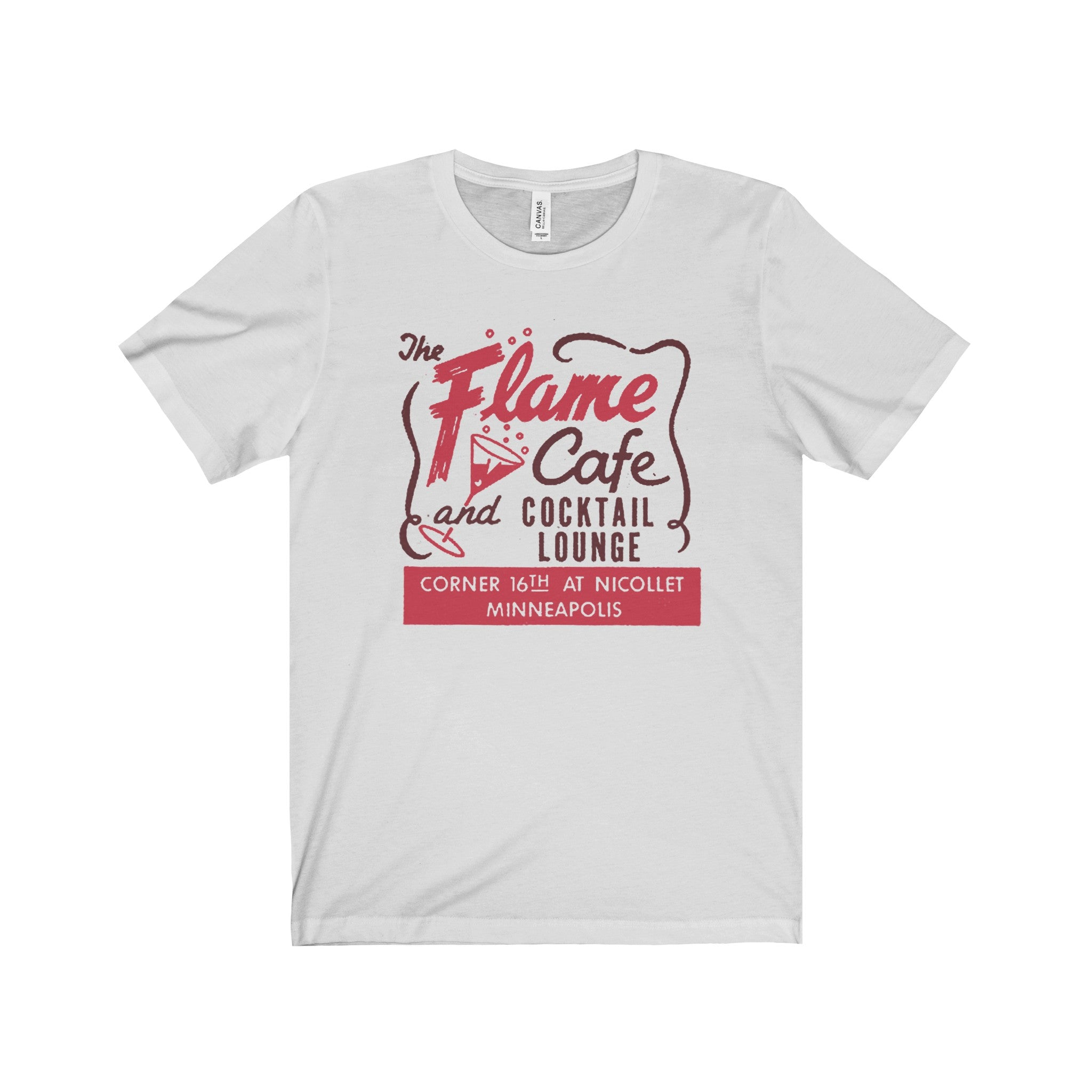 The Flame Cafe Vintage Tee