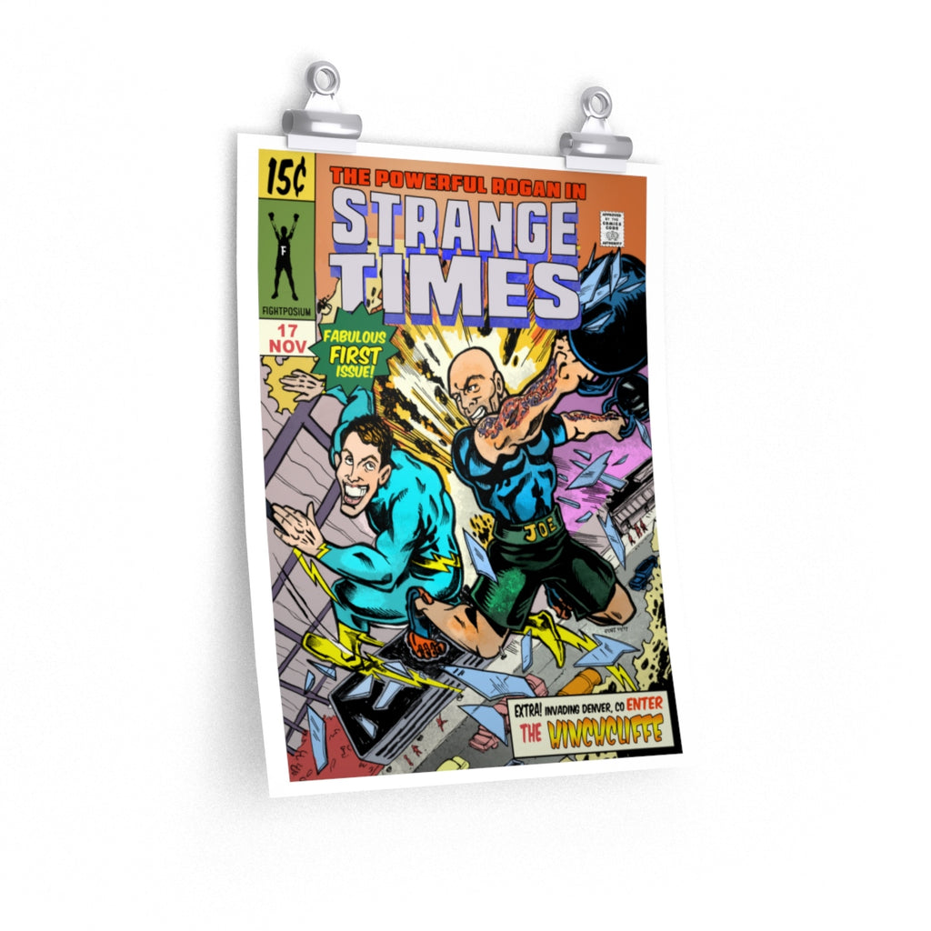 Rogan's Strange Times Comic Book Cover - poster