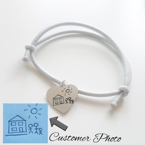 Actual Handwriting Elasticated Bracelet