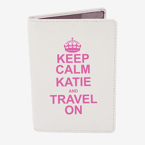 Keep Calm Passport Cover