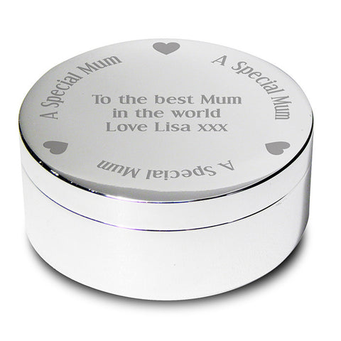 Personalised Special Mum Trinket Box