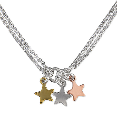Star Trio Necklace
