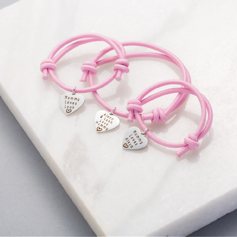 Premium Mummy, You & Me Bracelets (Set of 3)