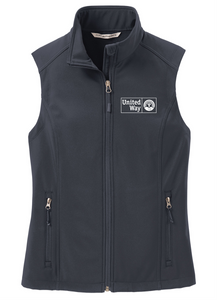 United Way Port Authority® Ladies Core Soft Shell Vest