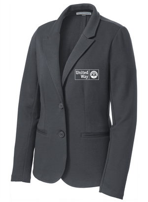 United Way Port Authority® Ladies Knit Blazer