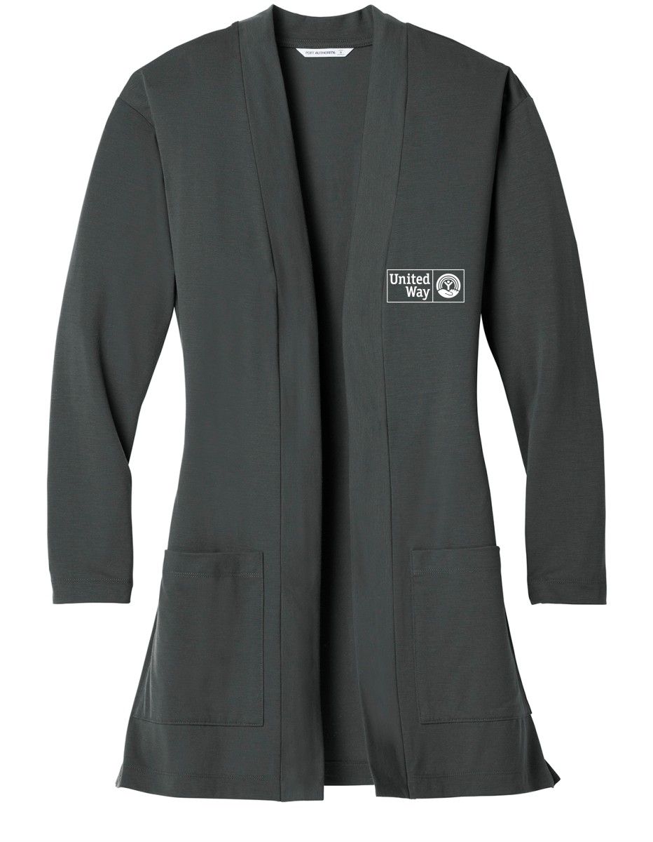 United Way Port Authority ® Ladies Concept Long Pocket Cardigan