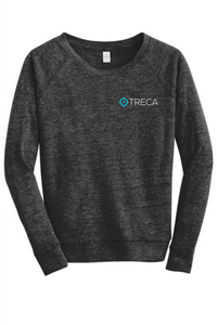 Treca Embroidered, Alternative Women's Eco-Jersey™ Slouchy Pullover