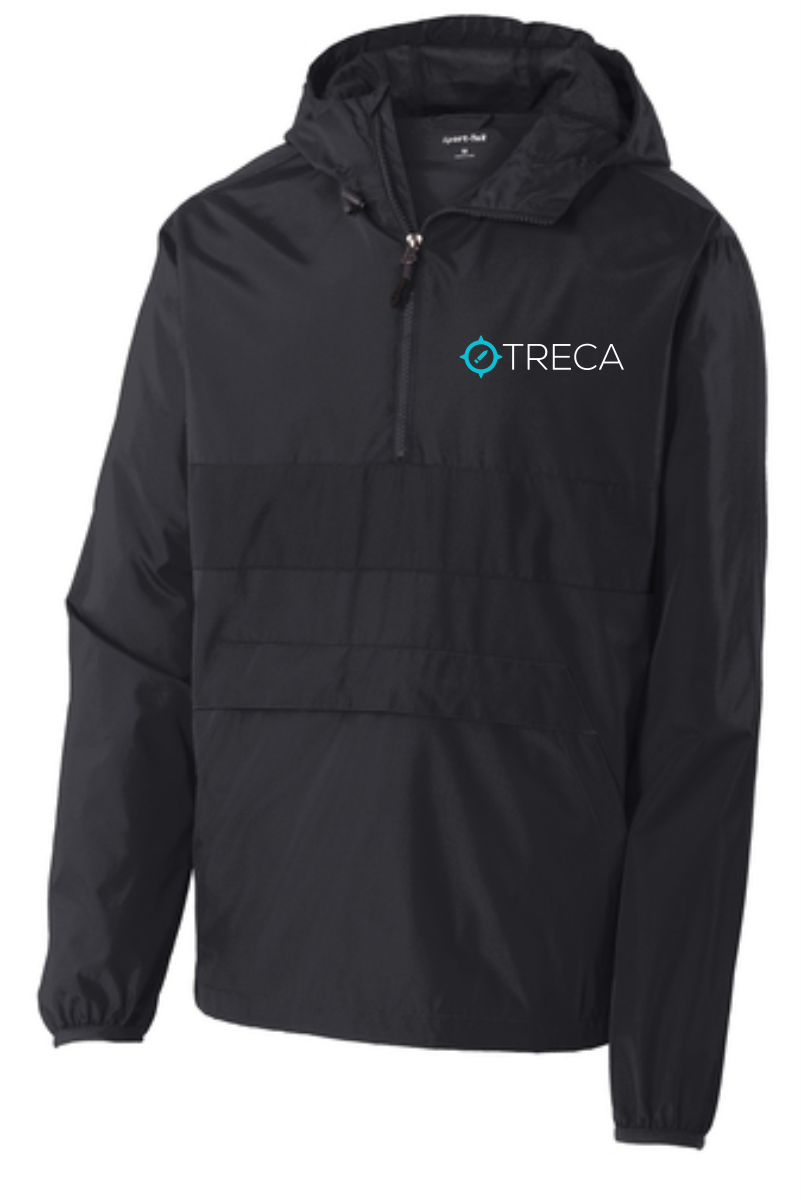 Treca Embroidered Zipped Pocket Anorak