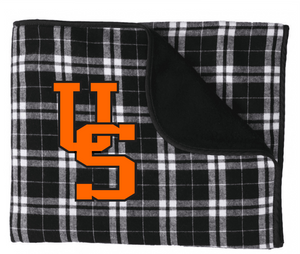 Upper Sandusky Fleece Blanket
