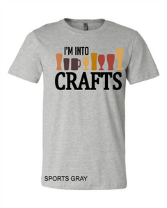 I'm in to Crafts (soft t)