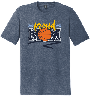 River Valley Basketball Proud Mom TriBlend (soft T)