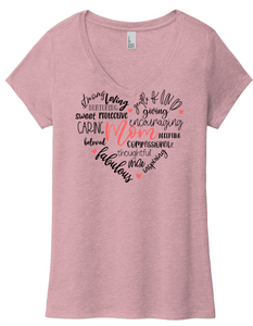 Wordle Heart MOM (soft t)