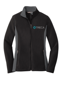 Treca Embroidered, Port Authority® Colorblock Value Fleece Jacket
