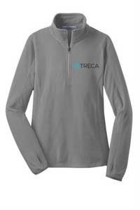Treca Embroidered Port Authority® Microfleece 1/2-Zip Pullover
