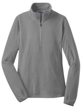 Ladies Microfleece 1/2 Zip L224 (MCBDD)